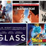 New Blu-ray Releases: Glass, Dragon Ball Super: Broly, The Karate Kid 4k, & more