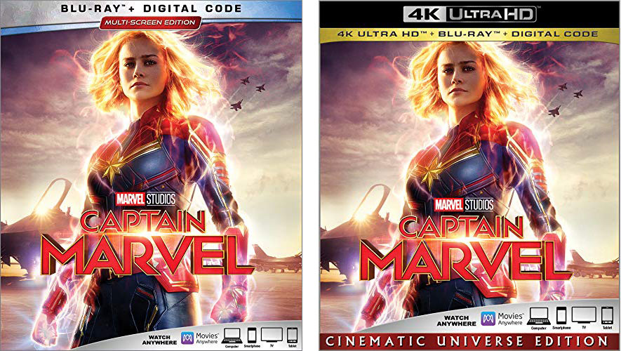 Captain Marvel Blu-rays & DVD Still Not Available From