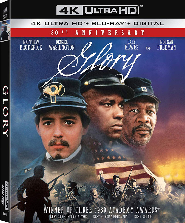 """Glory"" (1989) Ultra HD Blu-ray"