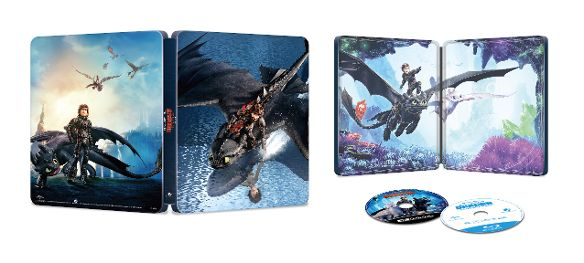 """How to Train Your Dragon: The Hidden World"" Best Buy SteelBook Blu-ray Edition"