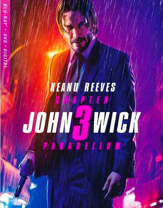 John Wick: Chapter 3 Blu-ray