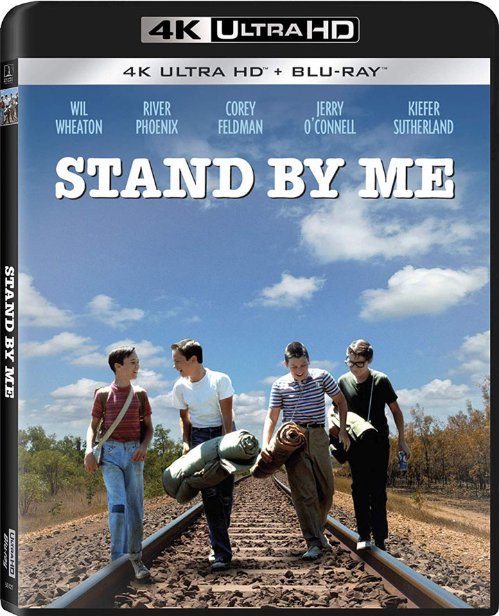 Stand By Me 4k Blu-ray