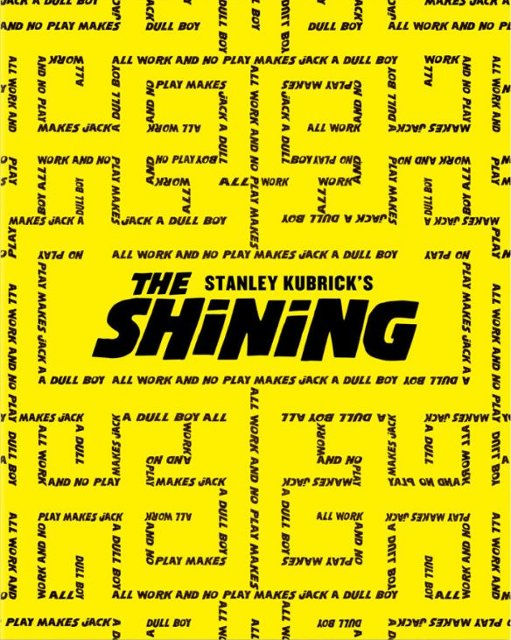 The Shining 4k Blu-ray SteelBook