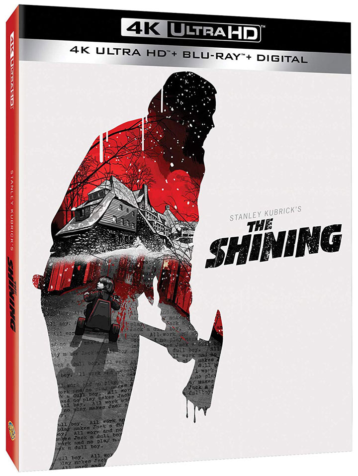 """The Shining"" (1980) Ultra HD Blu-ray"