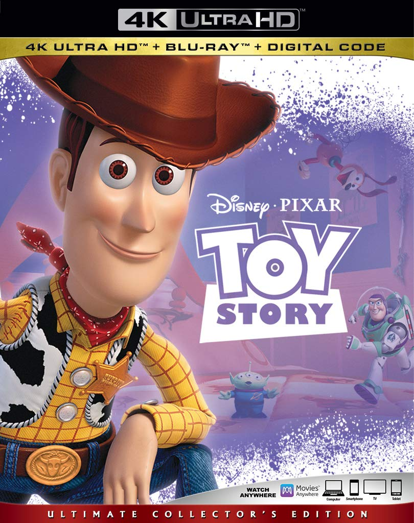 MOVIE - Toy Story - (1995) [4K 2160p Bluray TrueHD Atmos 7 1 HEVC