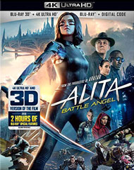 Alita: Battle Angel 4k/3D Blu-ray