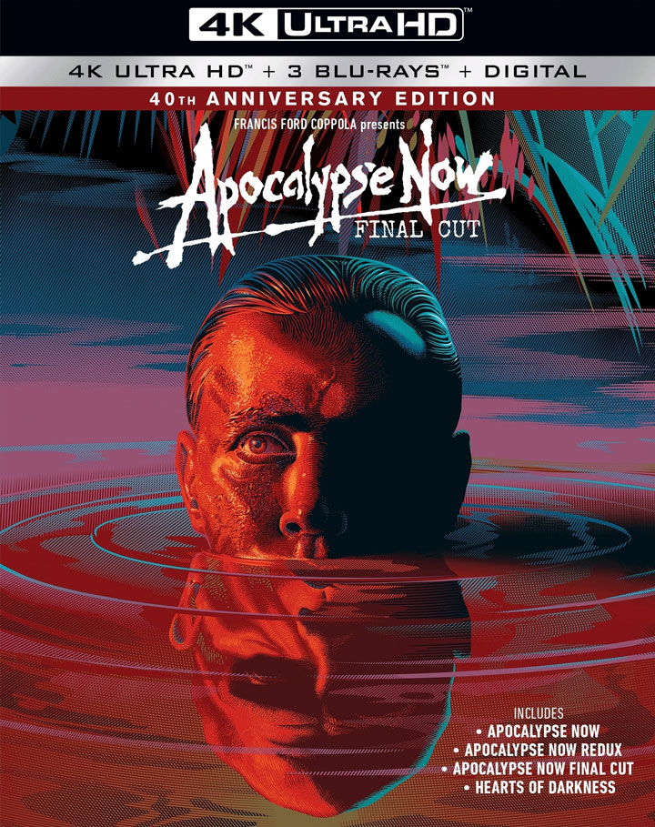 Apocalypse Now (1979) 4k Blu-ray Combo Edition
