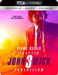 John Wick: Chapter 3 - Parabellum 4k Blu-ray