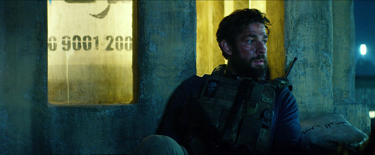 13 Hours Film Still with John Krasinski