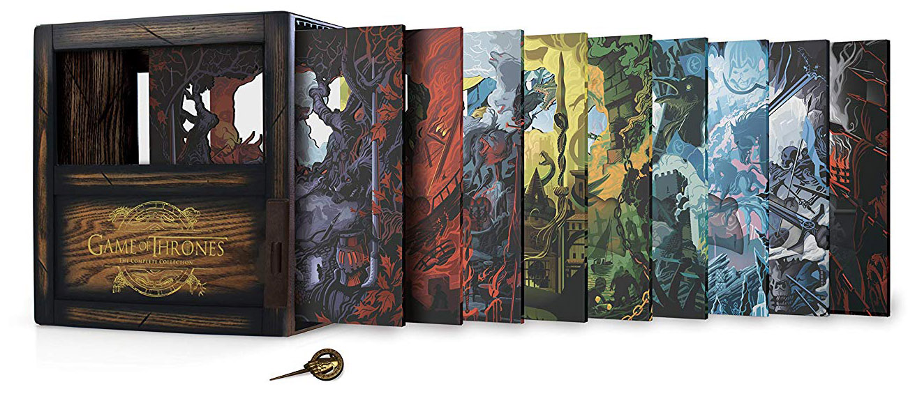 Game of Thrones- The Complete Seasons 1-8 open
