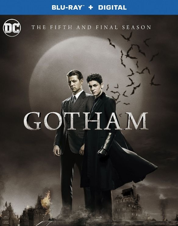 Gotham- The Complete Fifth Season Blu-ray