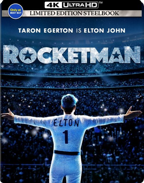 Rocketman 4k SteelBook