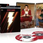 Shazam! Releasing to Digital, 4k Blu-ray & 4k SteekBook Editions