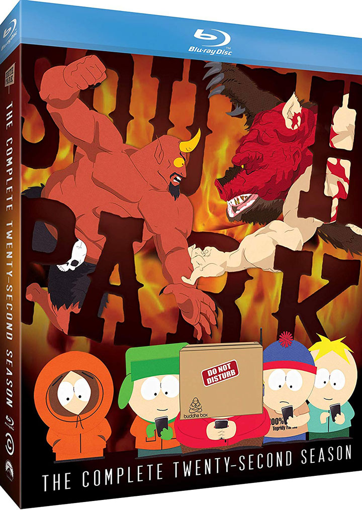 South Park The Complete Twenty Second Season Blu-ray