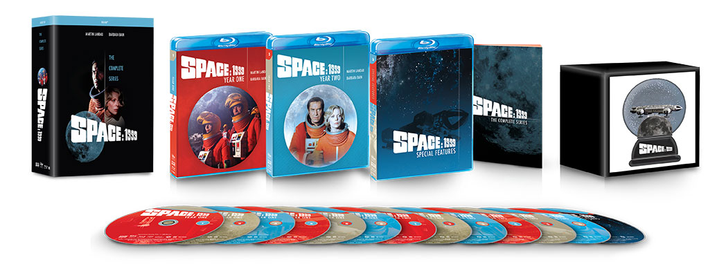 Space 1999 The Complete Series Blu-ray package open