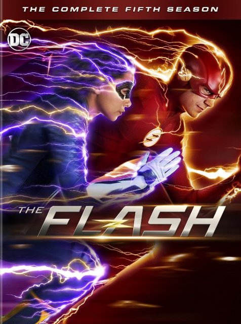 The Flash- The Complete Fifth Season Blu-ray