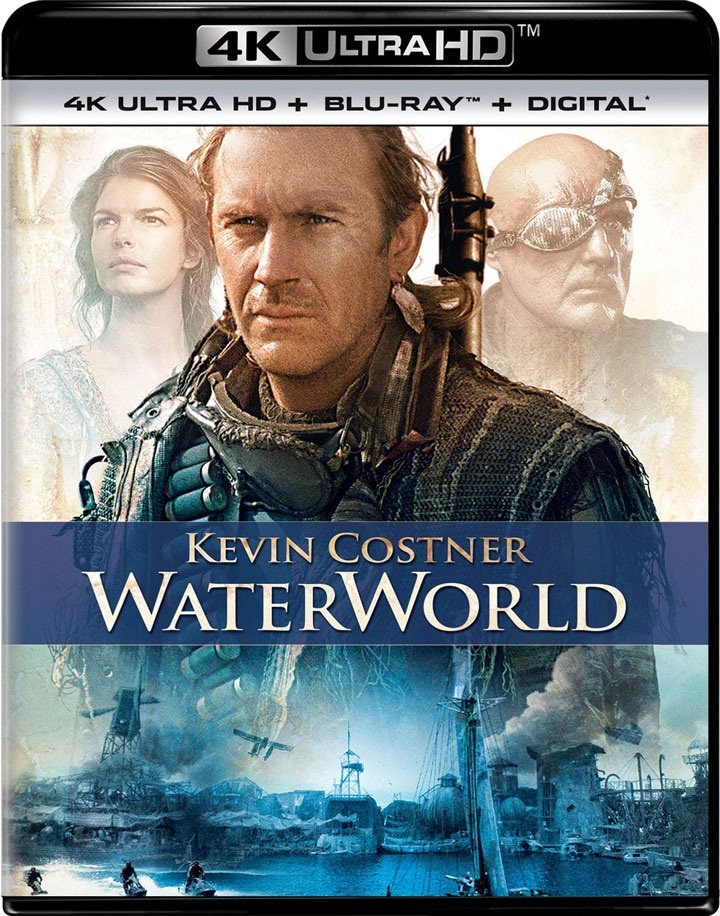 WaterWorld 4k Blu-ray