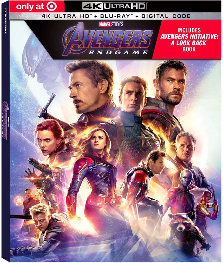 avengers endgame 4k blu-ray target exclusive