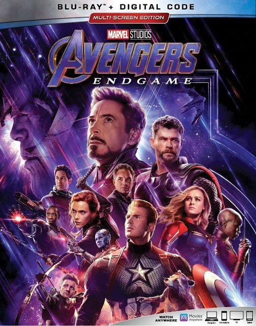 """Avengers: Endgame"" common Blu-ray Multi-Screen Edition"