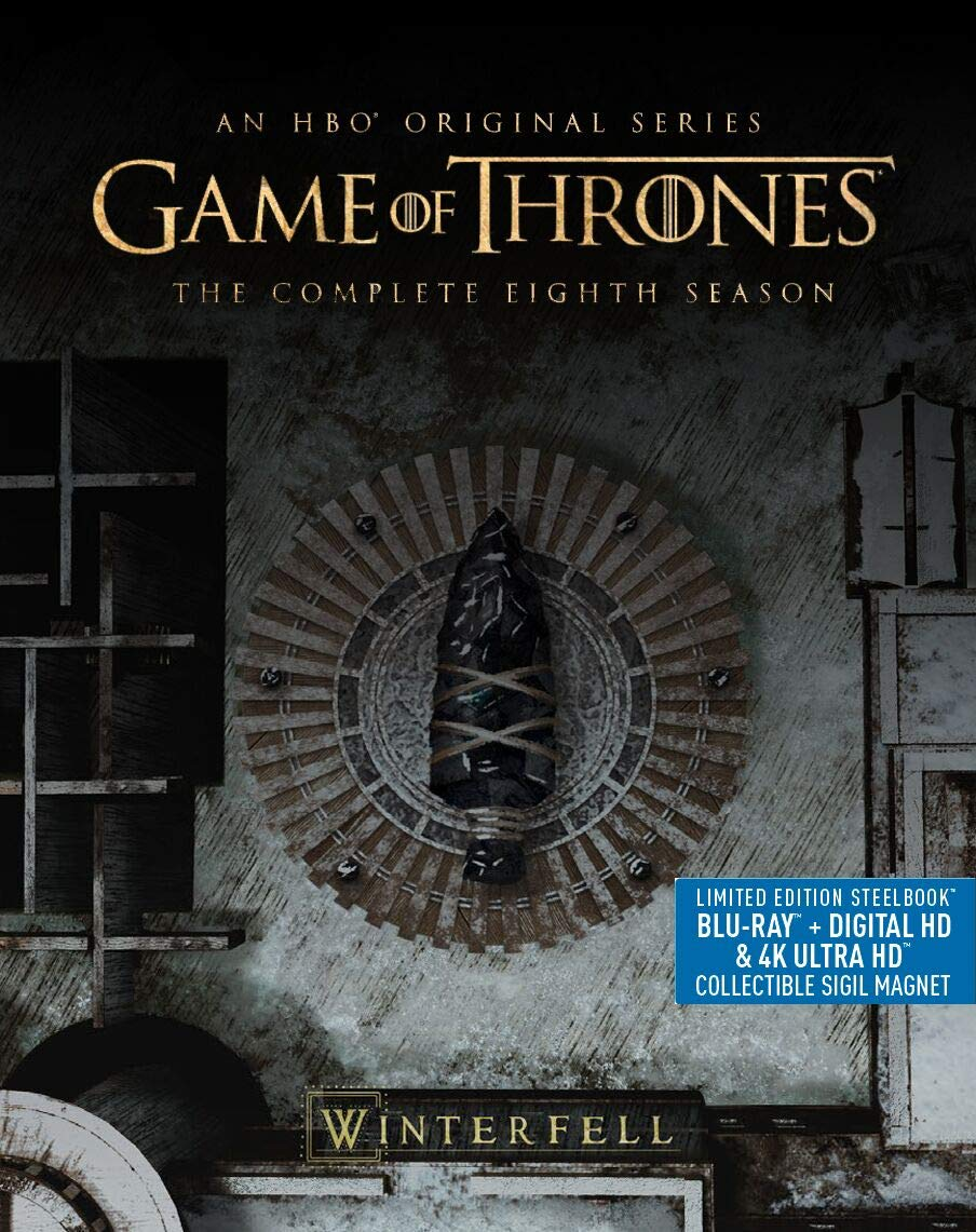 game of thrones season 8 4k blu-ray front