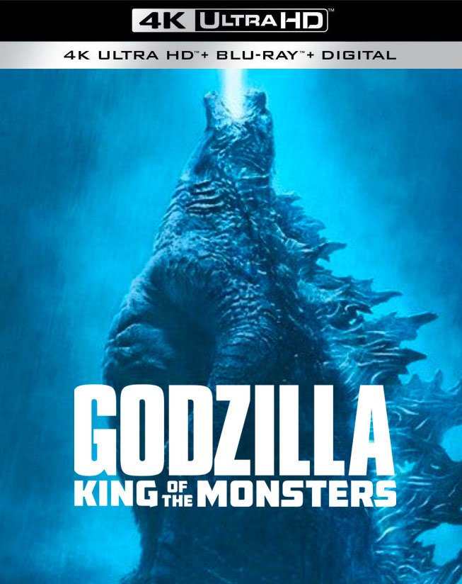 Godzilla: King of the Monsters' releasing to Blu-ray, 3D Blu