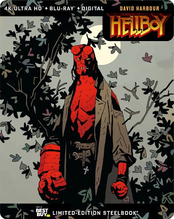 hellboy 4k blu-ray steelbook