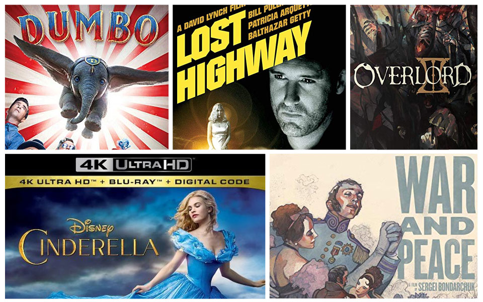 New Blu Ray Ultraviolet And 4k Releases This Week – Desenhos Para