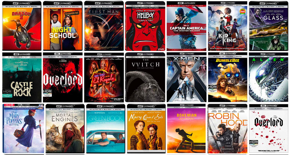 Reader Poll: The Best 4k Blu-ray Releases Mid-2019 – HD Report