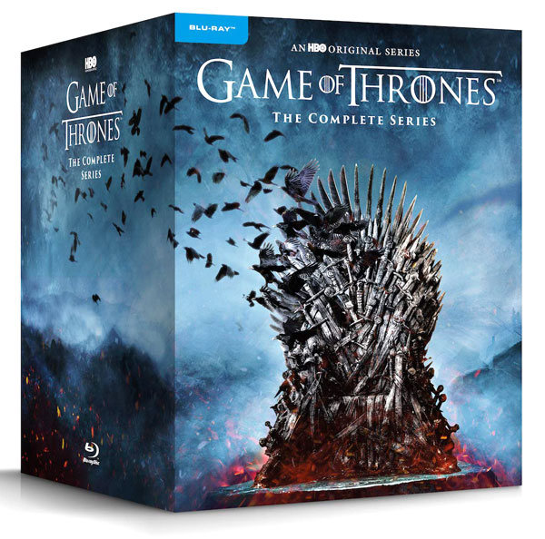 Game of Thrones: The Complete Series on Blu-ray