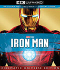 Iron Man 4k Blu-ray