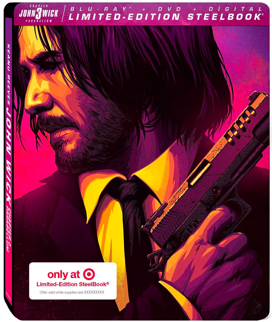 """John Wick: Chapter 3 - Parabellum"" Target Exclusive SteelBook"