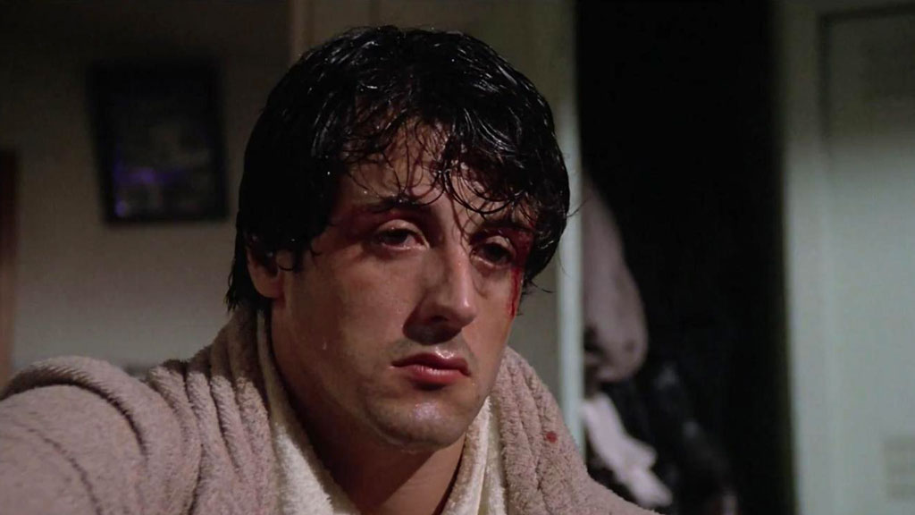 """Rocky"" (1976) starring Sylvester Stallone, MGM"