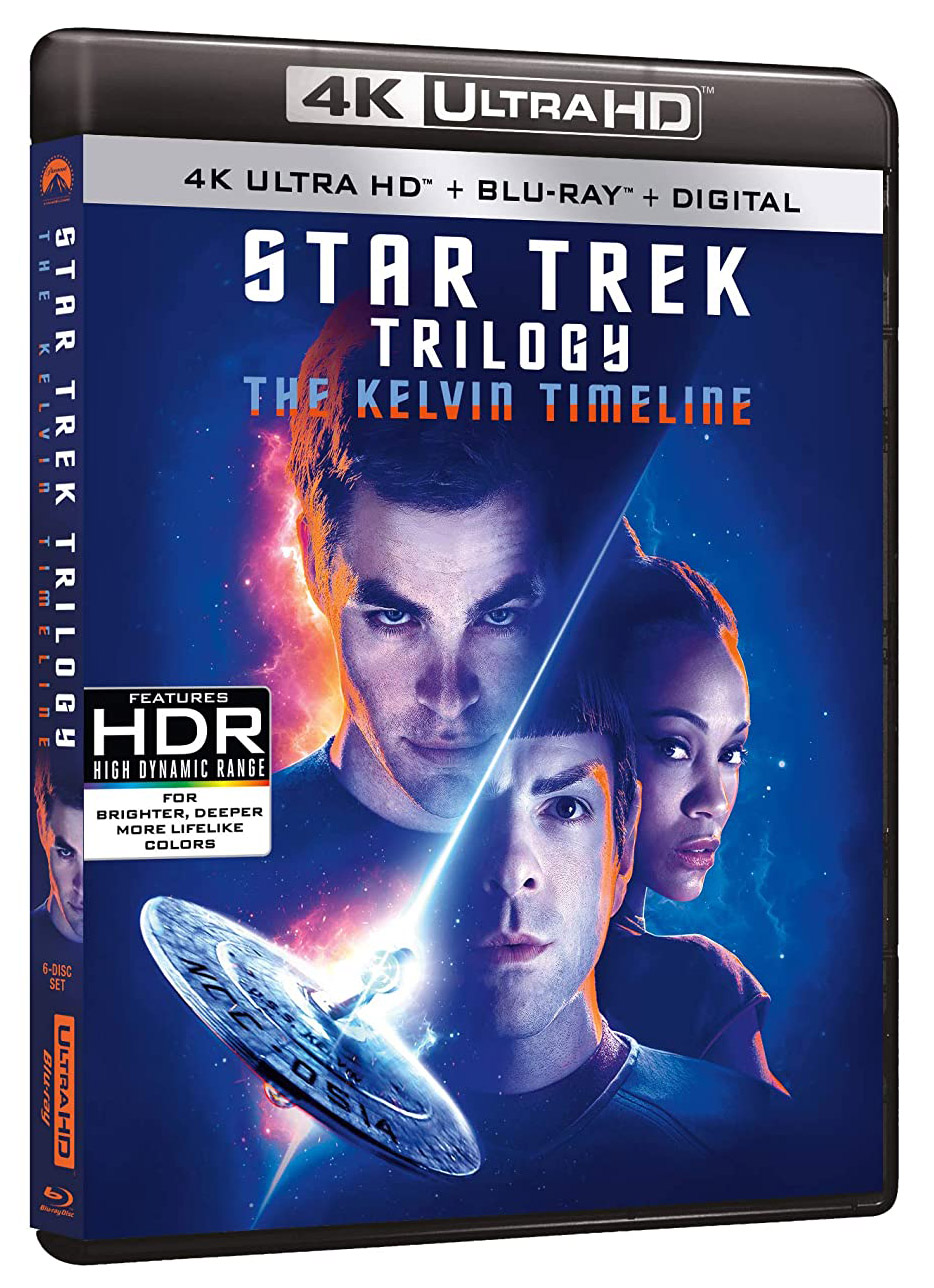 Star Trek Trilogy- The Kelvin Timeline Blu-ray 6-disc