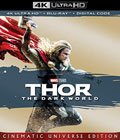 Thor The Dark World 4k Blu-ray