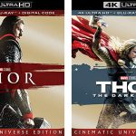 Thor, Thor: The Dark World releasing to 4k Blu-ray & 4k SteelBook Editions