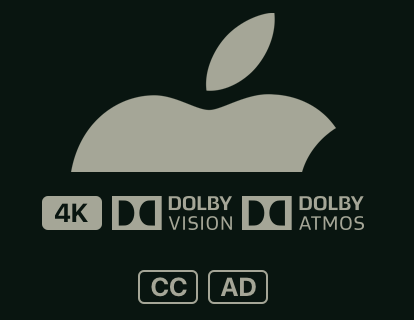 Apple 4k HDR10 Dolby Vision Dolby Atmos logos