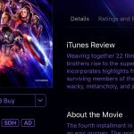 Apple doesn't have 'Avengers: Endgame' in 4k UHD