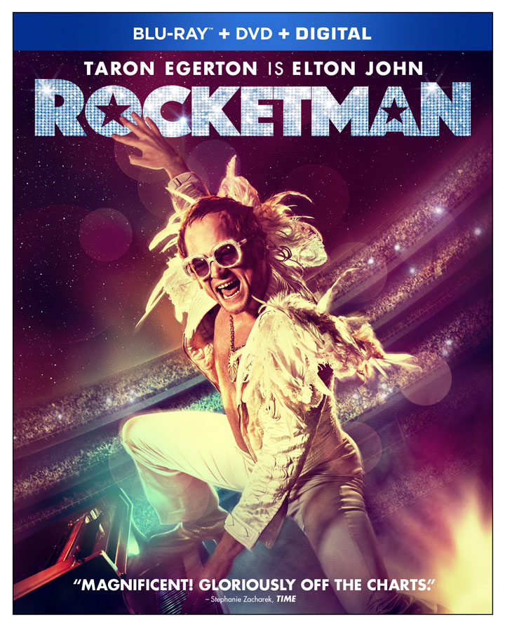 rocketman blu-ray disc