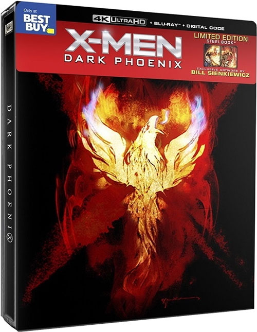 """X-Men Dark Phoenix"" 4k Blu-ray Best Buy Limited Edition SteelBook"