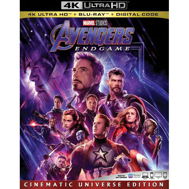 """Avengers: Endgame"" (2019) on Ultra HD Blu-ray"