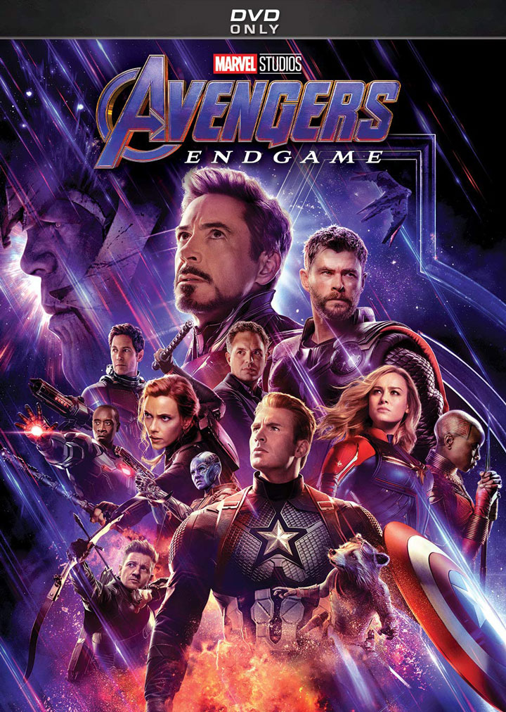 """Avengers: Endgame"" DVD Only Edition"