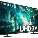 "The 75"" Samsung RU8000 4k HDR TV discounted $400"