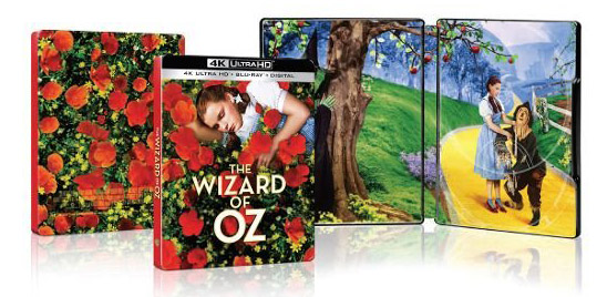 The Wizard of Oz 4k Blu-ray SteelBook