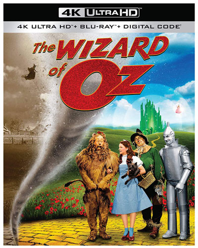 The Wizard of Oz 4k Blu-ray