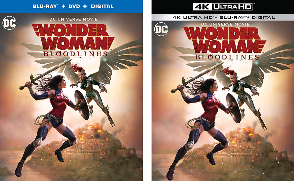 Wonder Woman Bloodlines Blu-ray 4k