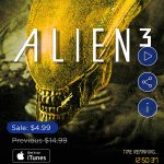 Alien 3 is only $4.99 in Digital HD today, no 4k yet