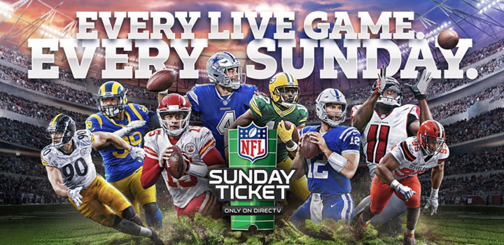 Directv Offers Free Preview Of Nfl Sunday Ticket On Opening Weekend Hd Report