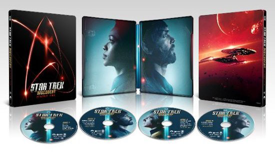 star trek discovery season 2 steelbook blu-ray