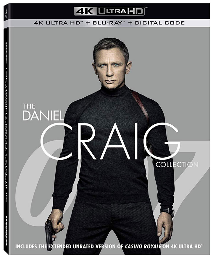 007 The Daniel Craig Collection 4k Blu-ray