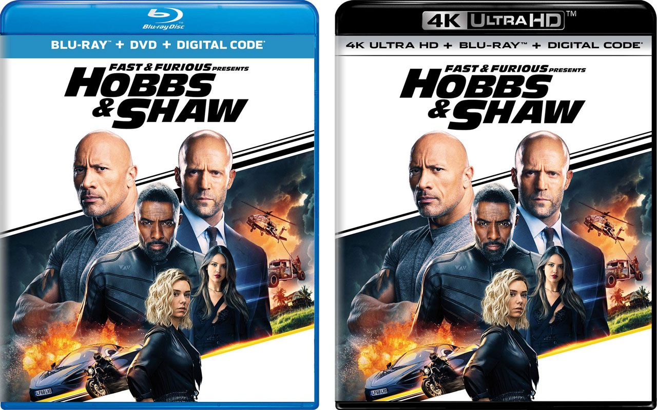 Fast Furious Presents Hobbs Shaw Blu Ray Release Date Details Revealed Hd Report